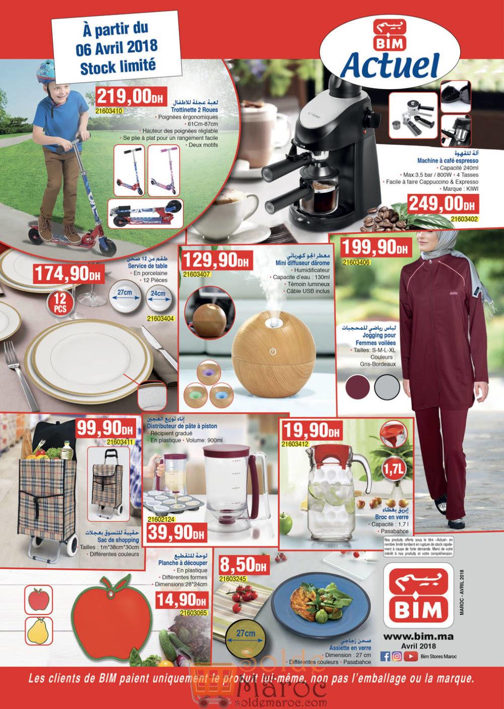 Catalogue Bim Maroc du Vendredi 6 Avril 2018