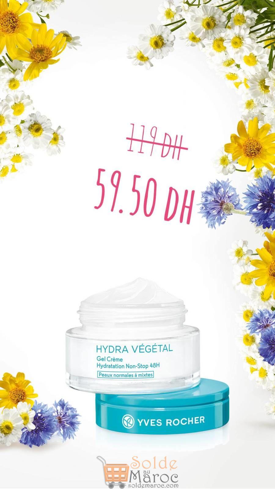 Soldes Yves Rocher Maroc Gamme Hydra Végétal