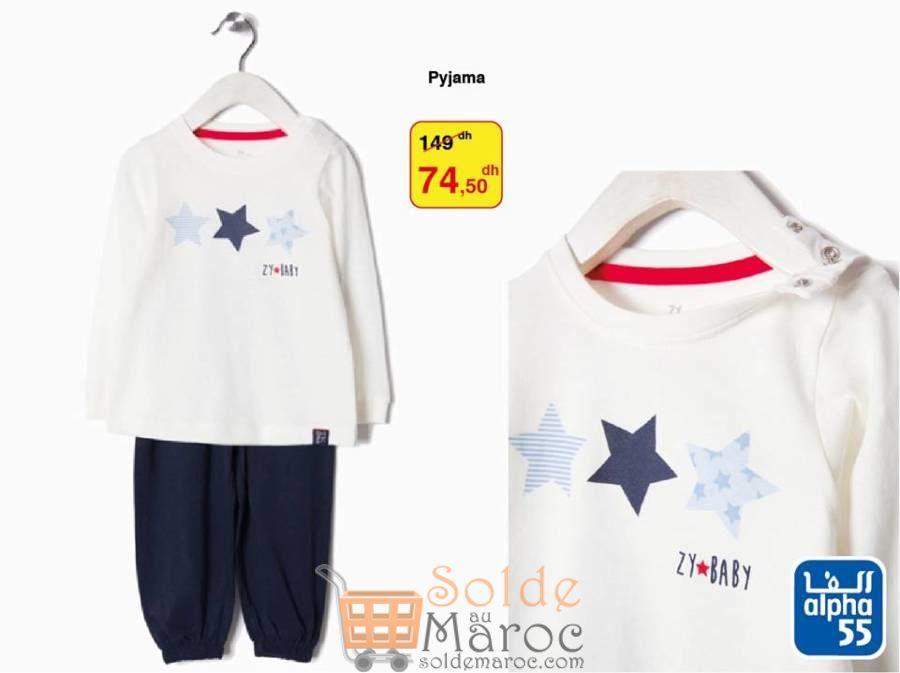 Soldes Alpha55 Pyjamas Bébé Garçon