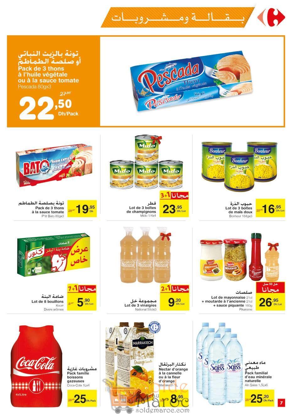 Catalogue Carrefour Market Maroc du 29 Mars au 17 Avril 2018