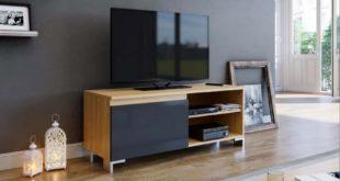 Promo Azura Home MEUBLE TV AKOS 110 cm 990Dhs au lieu de 1490Dhs