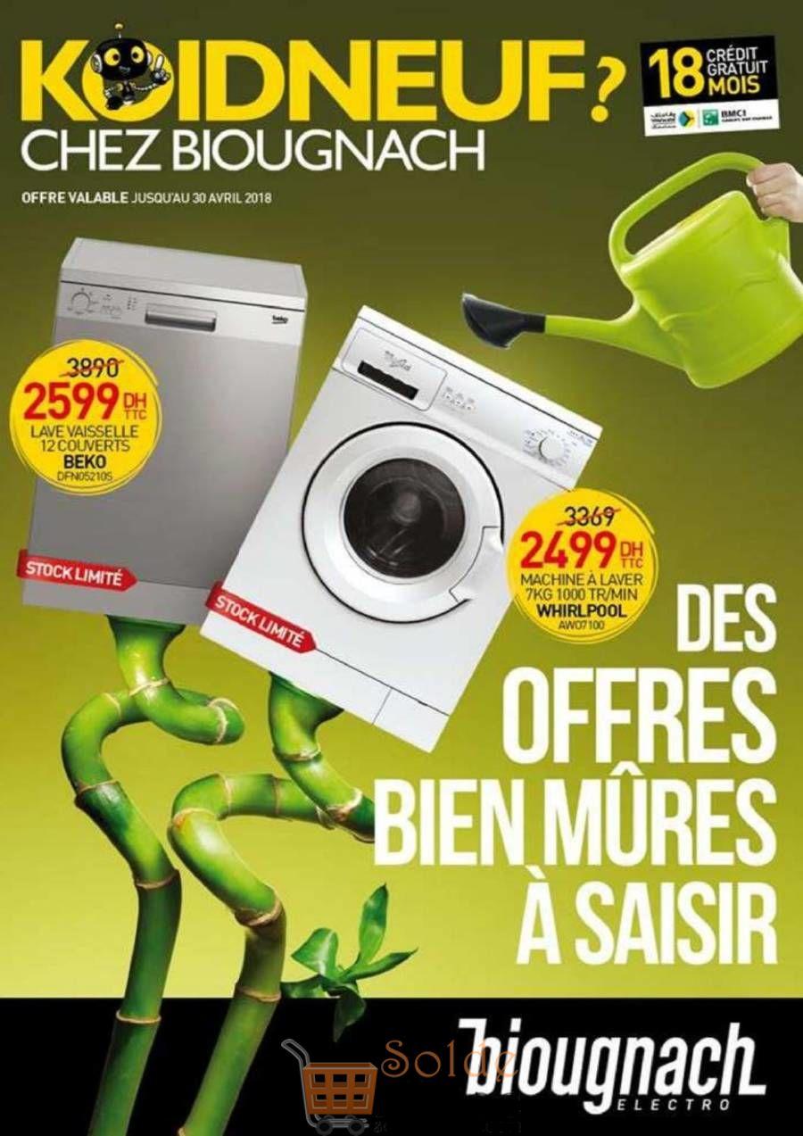 Catalogue Biougnach Jusqu'au 31 Avril 2018