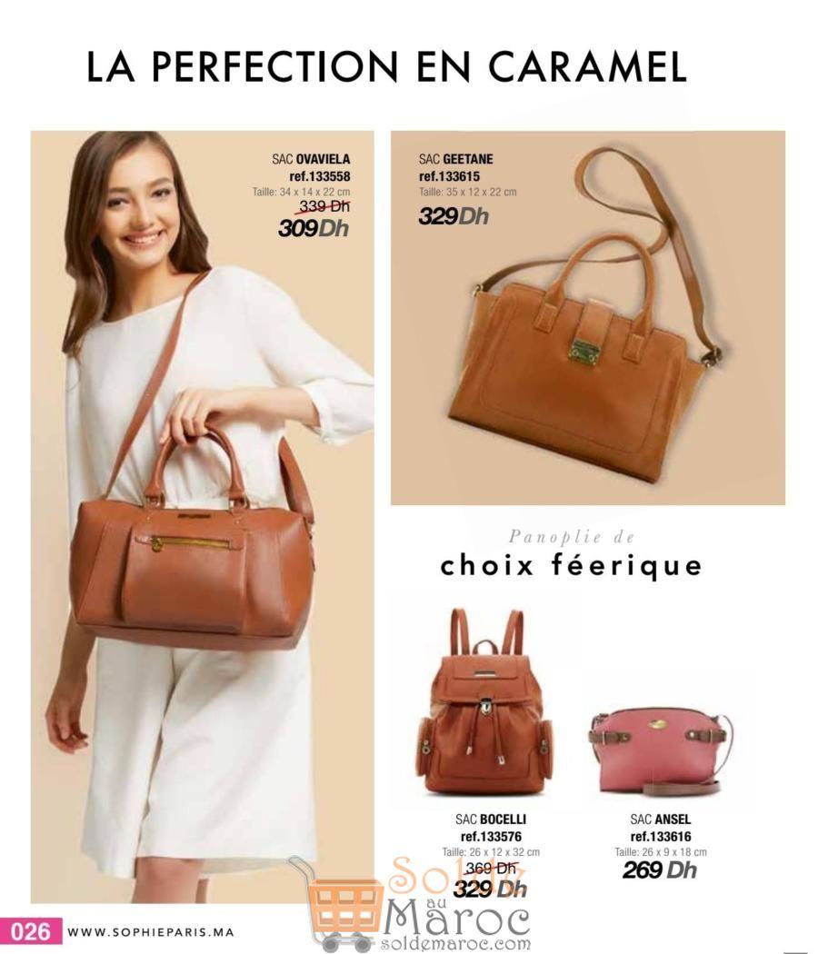 Catalogue Sophie Paris Maroc Mars 2018