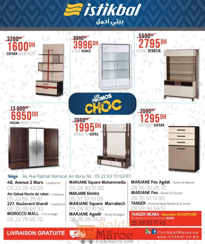 Catalogue Istikbal Maroc Printemps 2018