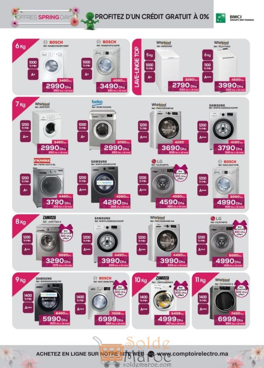 Catalogue Le Comptoir Electro du 23 Mars au 15 Avril 2018