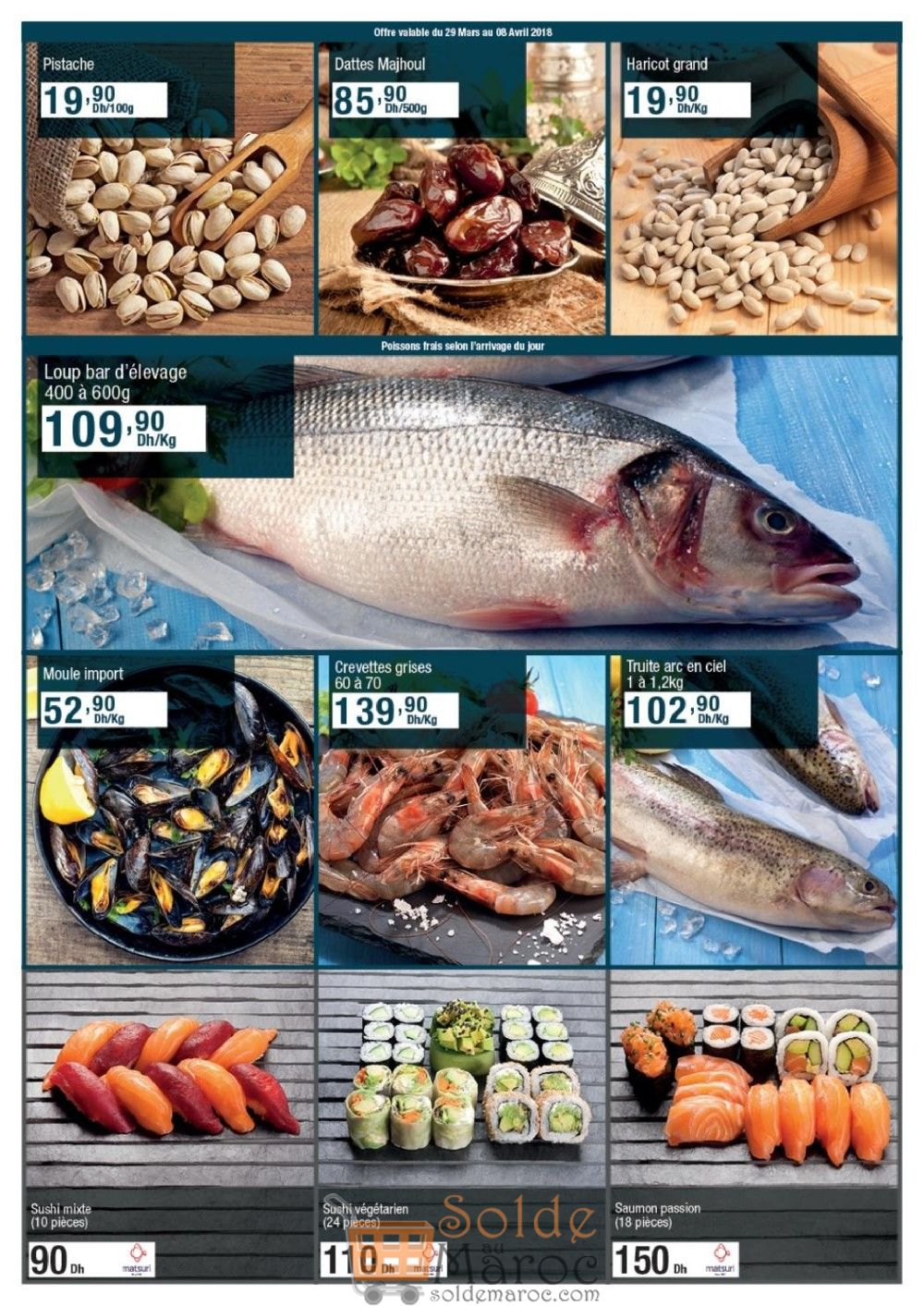 Catalogue Carrefour Maroc du 29 Mars au 17 Avril 2018