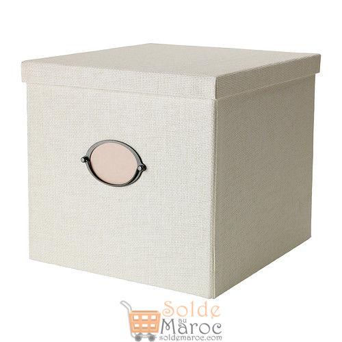 KVARNVIK Boîte avec couvercle blanc 299DH au lieu de 199DH