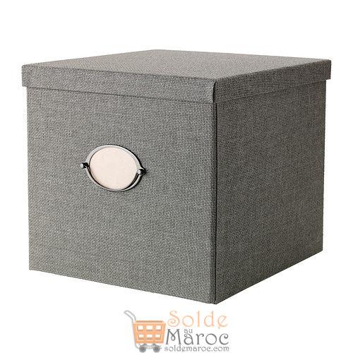 KVARNVIK Boîte avec couvercle gris 299DH au lieu de 199DH