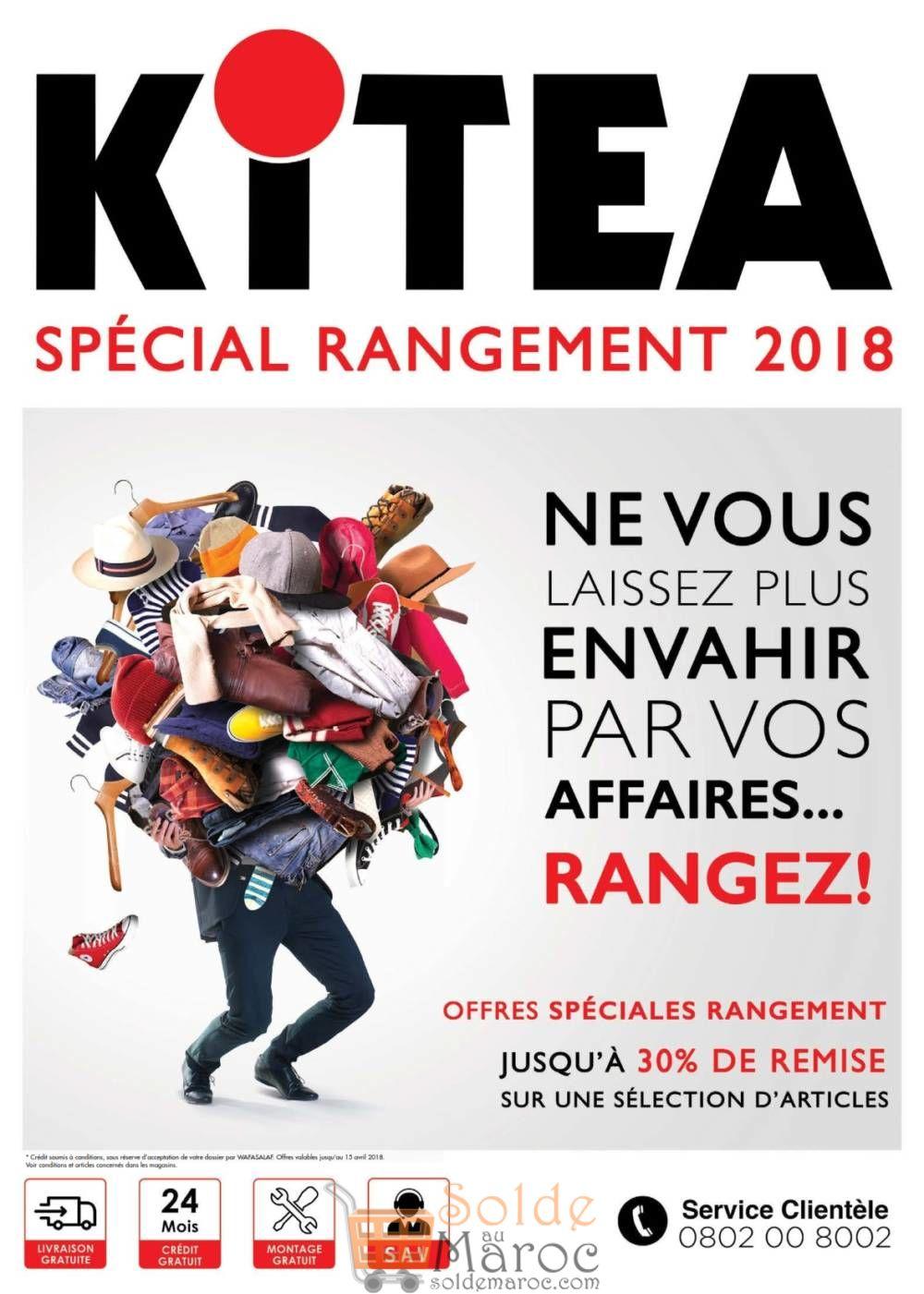 Catalogue kitea Spéciale Rangement 2018