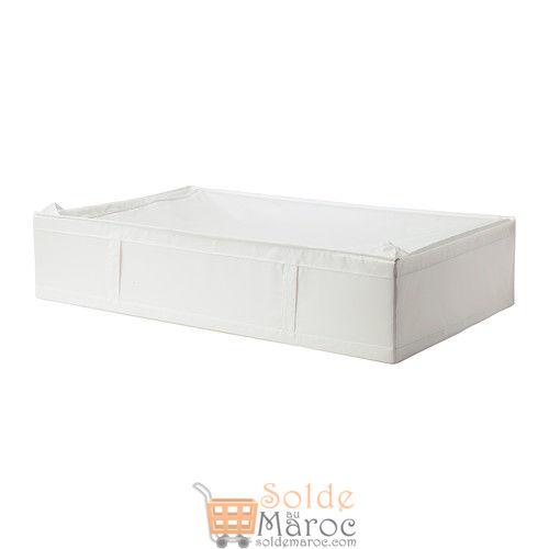 SKUBB Boîte de rangement blanc 199DH au lieu de 159DH