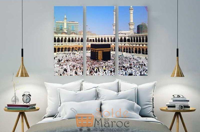 Promo Massinart Tableau décoratif Al Kaaba imprimé en HD 332Dhs au lieu de 369Dhs