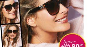 Super Offre Avon Maroc Lunettes de soleil Katie 89Dhs à l'achat de 200dhs de la brochure