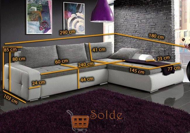 Promo Azura Home CANAPÉ D'ANGLE LUTECIA 8990Dhs au lieu de 9483Dhs