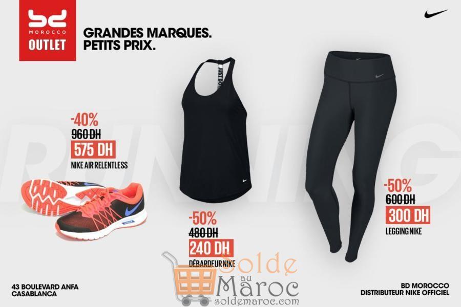 Promo BD Morocco Outlet Articles Nike pour Femme