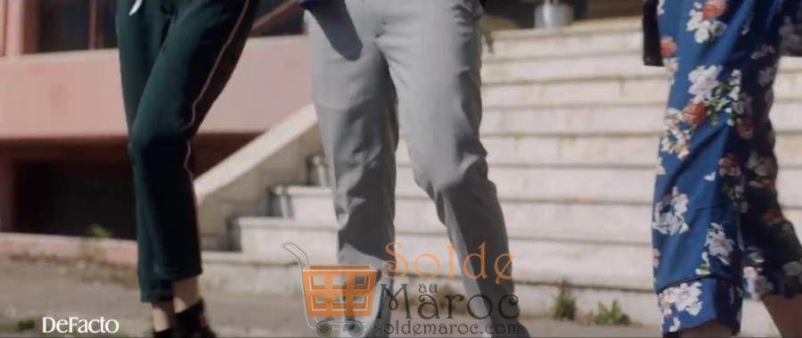 Soldes Defacto Maroc Pantallon RELAX