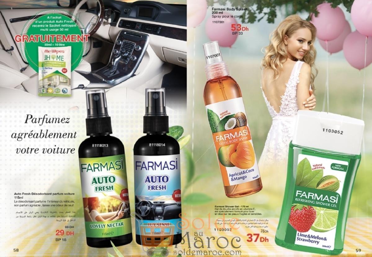 Catalogue Farmasi Maroc Avril 2018