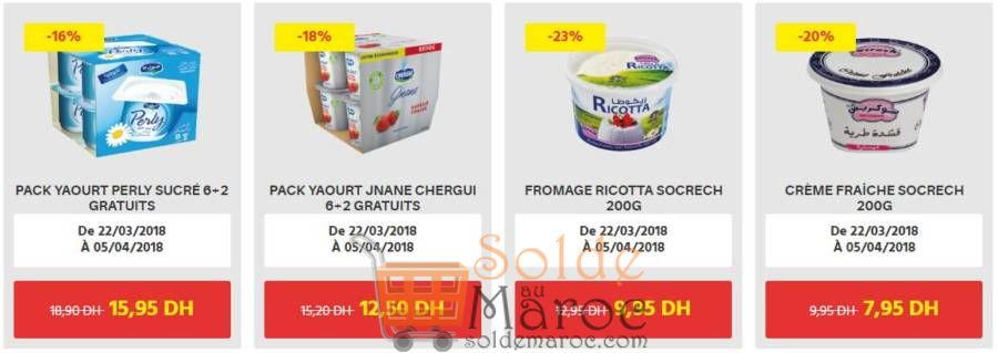 Promo Leader Price Maroc Fromage et Pack Yaourt