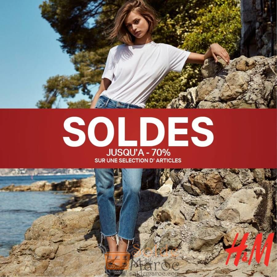 Soldes H&M Maroc Jusqu'à -70% sur une sélection d'articles