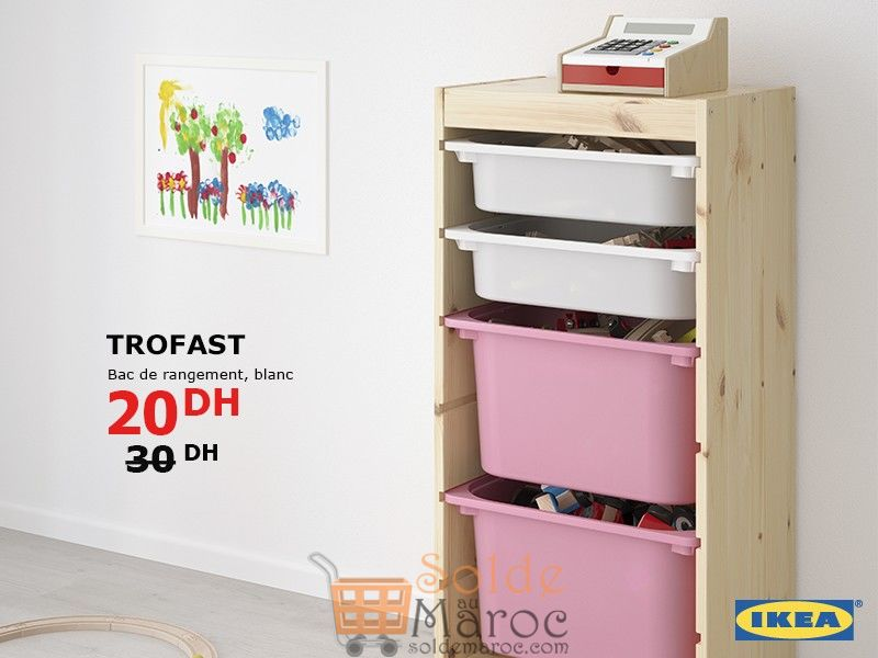 Promo Ikea Maroc Bac De Rangement Trofast 20dhs Solde Et