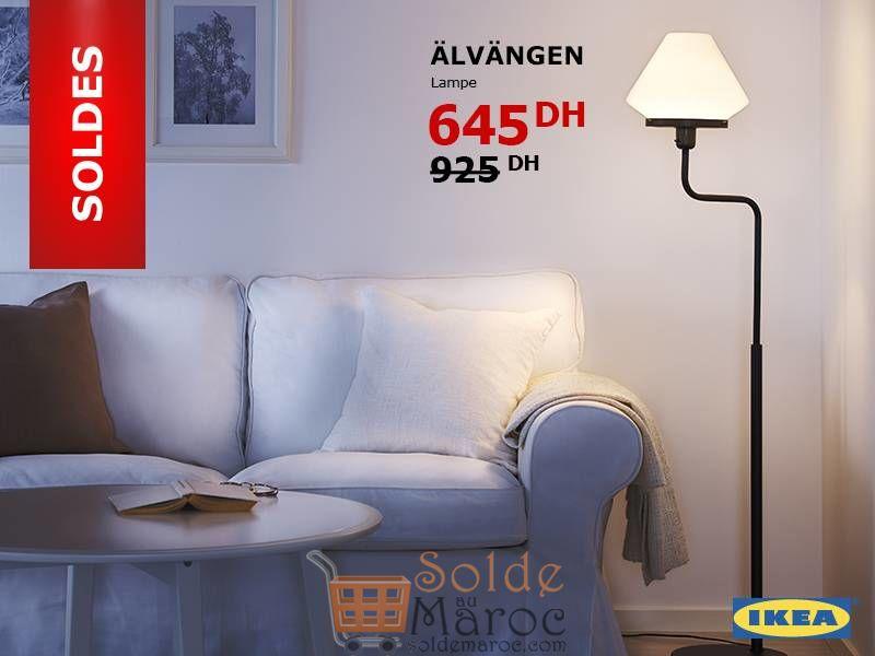 Soldes Ikea Maroc Lampe ALVANGEN 645Dhs au lieu de 925Dhs