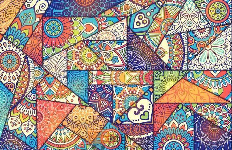 Promo Massinart Tableau décoratif Islamic motifs imprimé en HD 431Dhs au lieu de 479Dhs