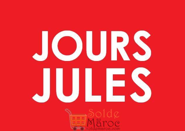 Soldes JULES Maroc JOURS JULES -50% sur tout