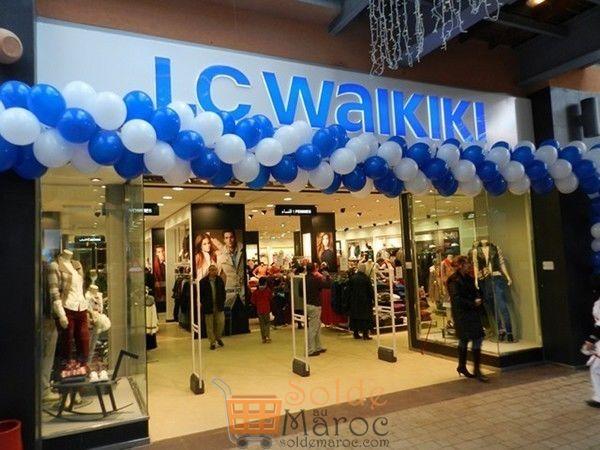 Inauguration LC Waikiki Marjane Hay Riad Rabat