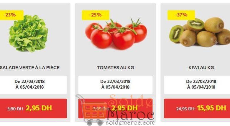Promo Leader Price Maroc Fruits et legumes