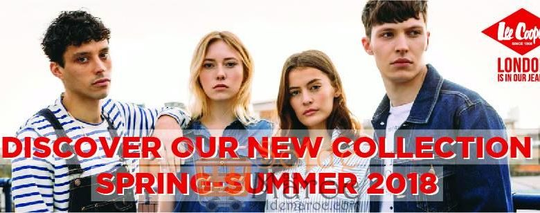 Nouvelle collection chez LEE COOPER Maroc SPRING SUMMER 2018