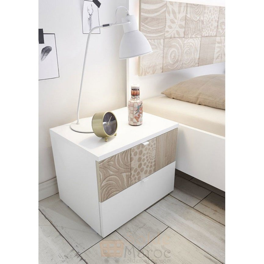 soldes azura home lot de 2 tables de chevet avolte 1690dhs. Black Bedroom Furniture Sets. Home Design Ideas