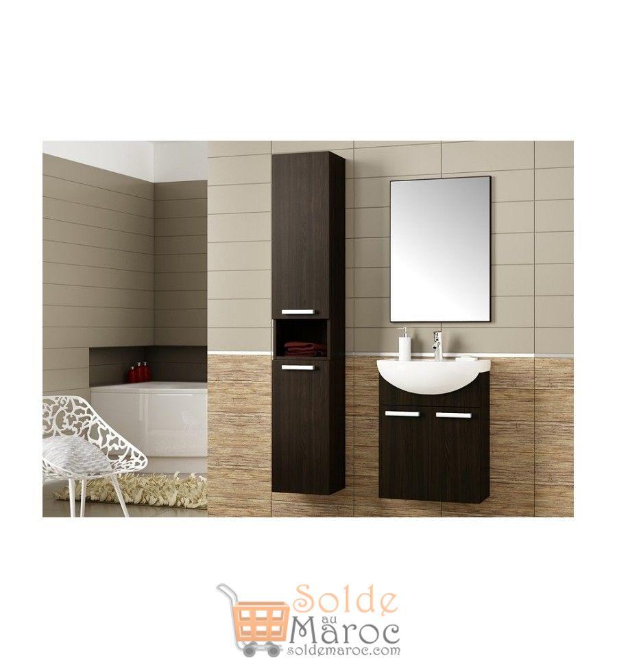 promo azura home meuble de salle de bain neptune wenge. Black Bedroom Furniture Sets. Home Design Ideas