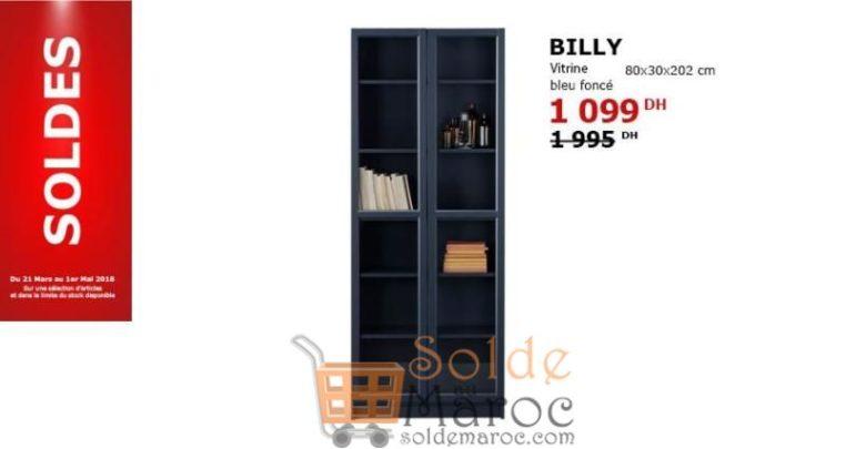 Photo of Solde Ikea Maroc Vitrine Bleu foncé 1099Dhs