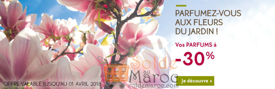 Promo Yves Rocher Maroc Vos Parfums à -30%