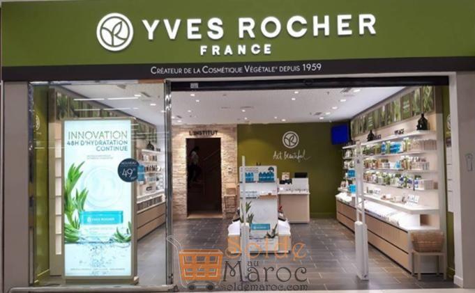 Troisième boutique Yves Rocher à Meknès centre Commercial Marjane