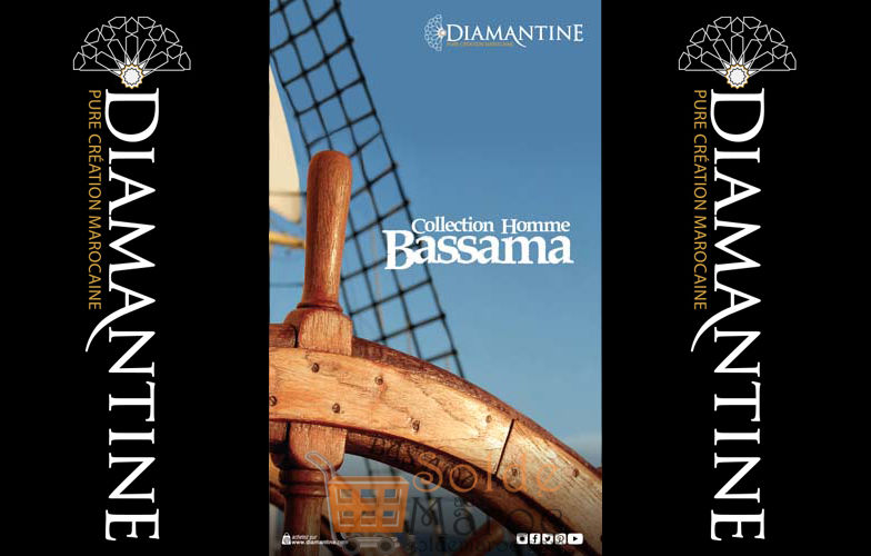 Lookbook Diamantine Collection Homme BASSAMA