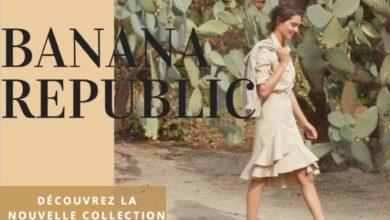Catalogue Banana Republic Nouvelle Collection Printemps 2018