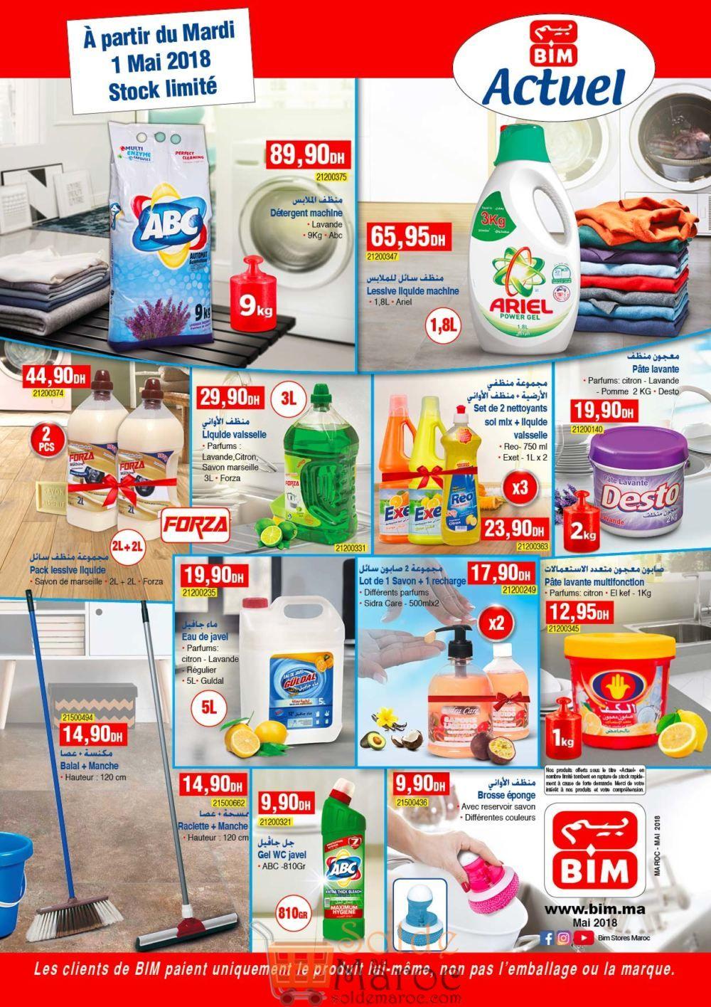 Catalogue Bim Maroc du Mardi 1 Mai 2018