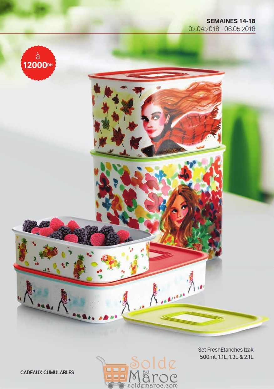 Catalogue Tupperware Maroc du 2 Avril au 6 Mai 2018