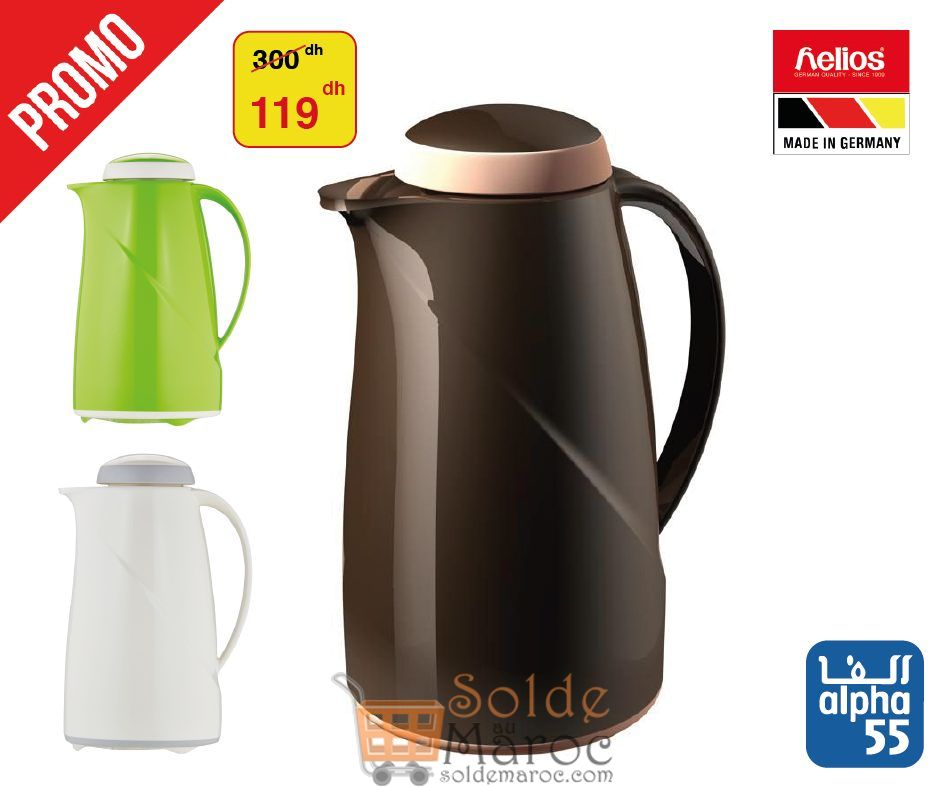 Promo Alpha55 Thermos Helios MADE IN GERMANY