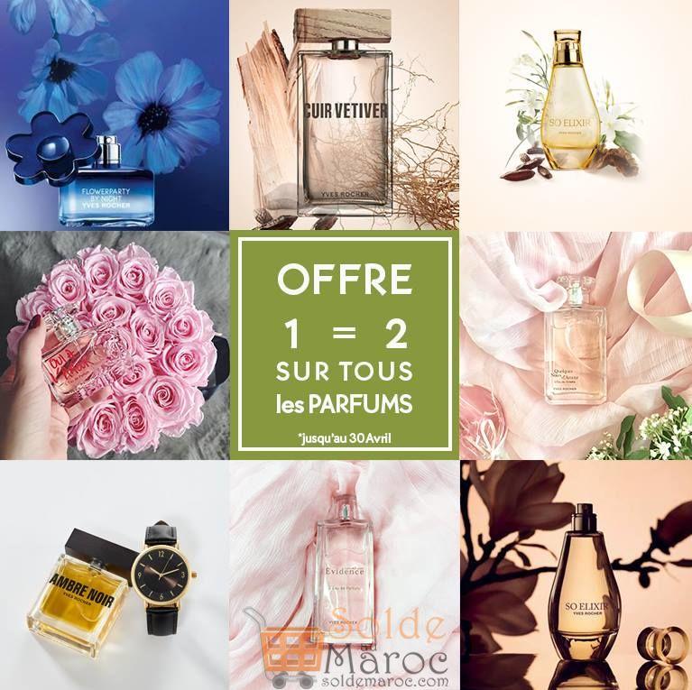 Promo Yves Rocher Maroc Offre Parfums 12 Jusquau 30 Avril 2018