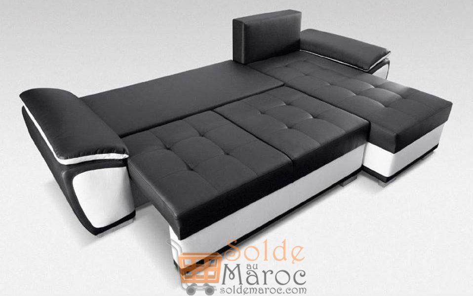 Promo Azura Home Canapé d'angle NICKY 5490Dhs au lieu de 13869Dhs