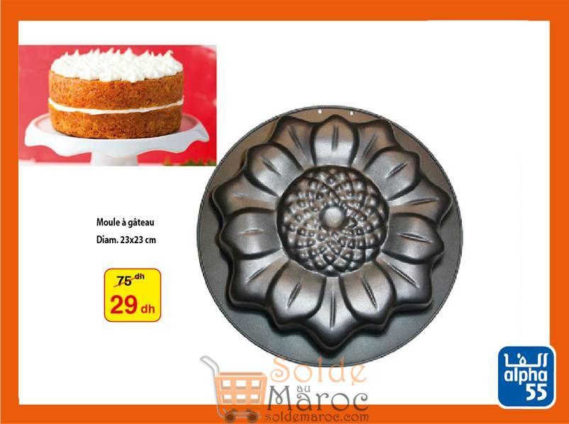 Promo Alpha55 Moule à gâteau Moule à tarte Moule à pâtisserie