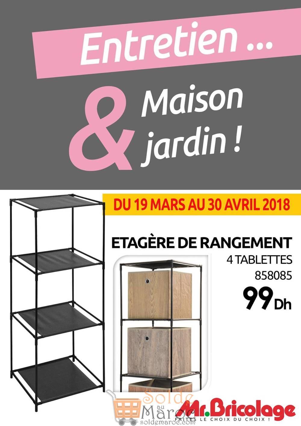 Flyer Mr Bricolage Maroc Spéciale Rangement Jusqu'au 30 Avril 2018