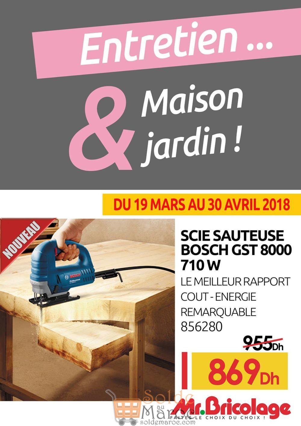 Flyer Mr Bricolage Maroc Jusqu'au 30 Avril 2018