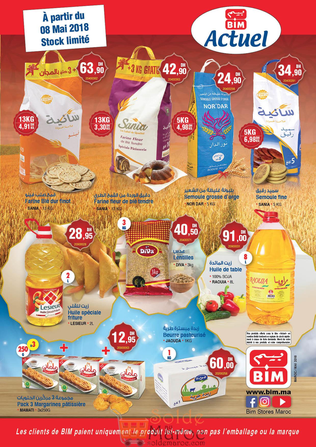 Supplément Catalogue Bim Maroc du Mardi 8 Mai 2018