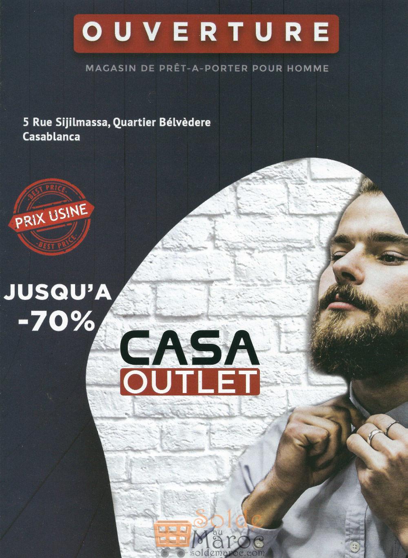 Ouverture magasin casa outlet jusqu 70 de r duction for Casa outlet