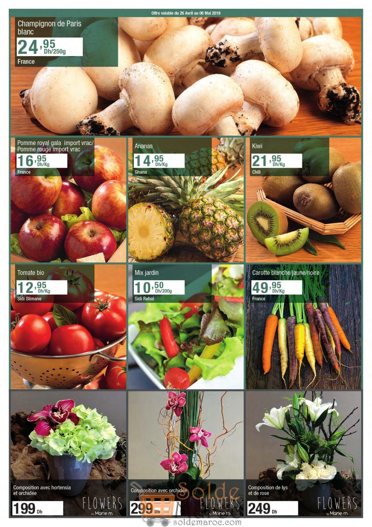 Catalogue Carrefour Market Gourmet Maroc du 26 Avril au 16 Mai 2018