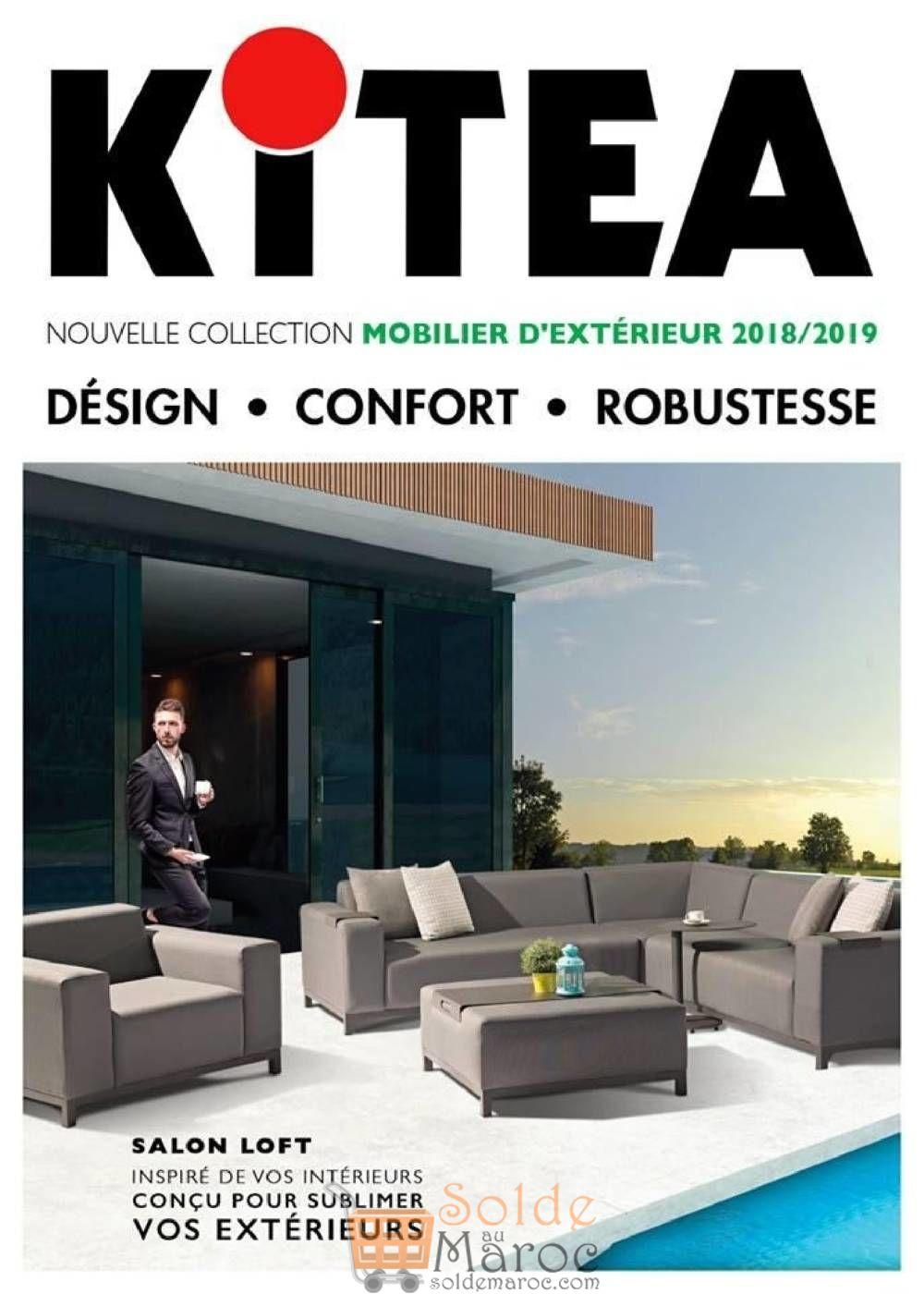 Catalogue KITEA Mobilier d'Extérieur 2018-2019