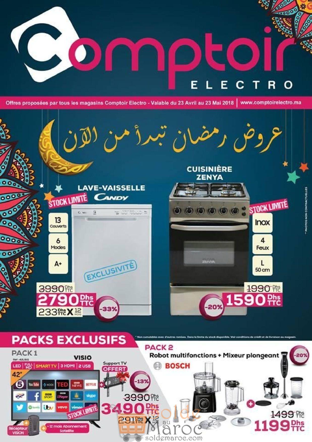 Catalogue Le Comptoir Electro Jusqu'au 23 Mai 2018