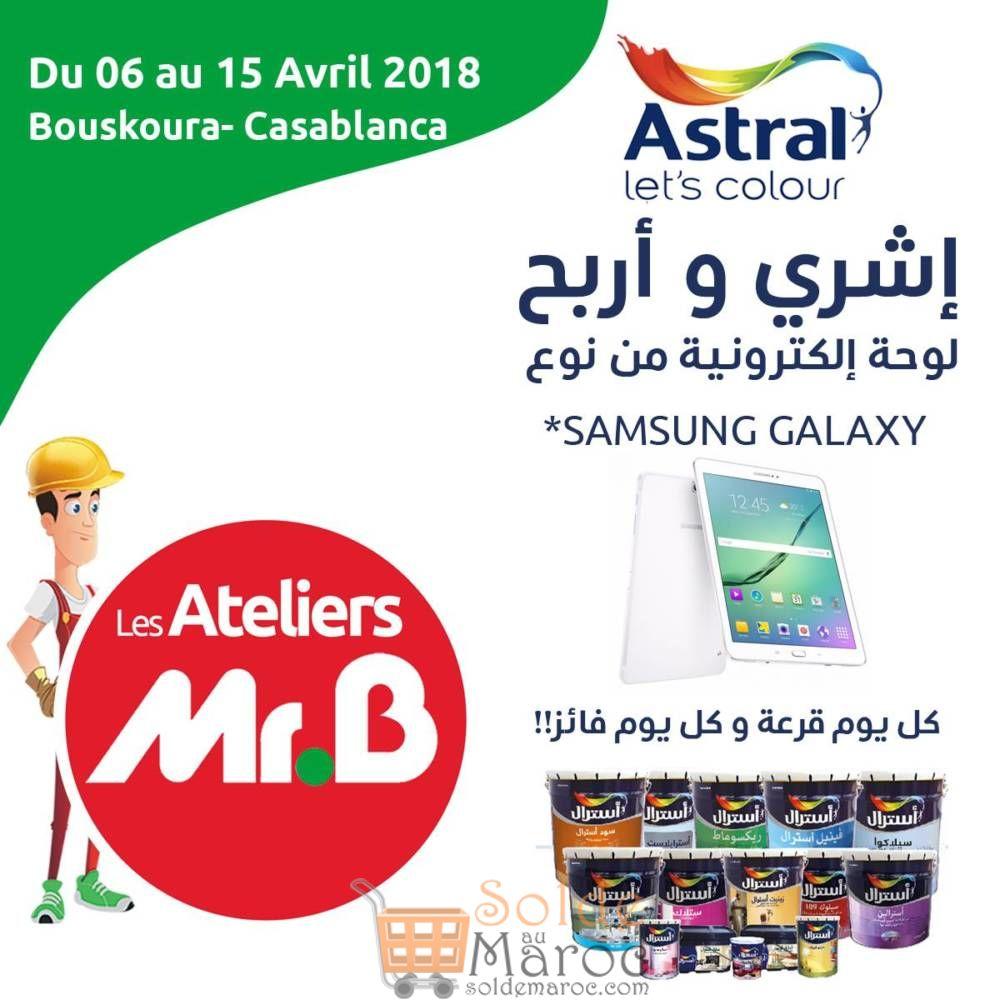 Astral vous récompense chez Mr Bricolage du 06 au 15 Avril 2018
